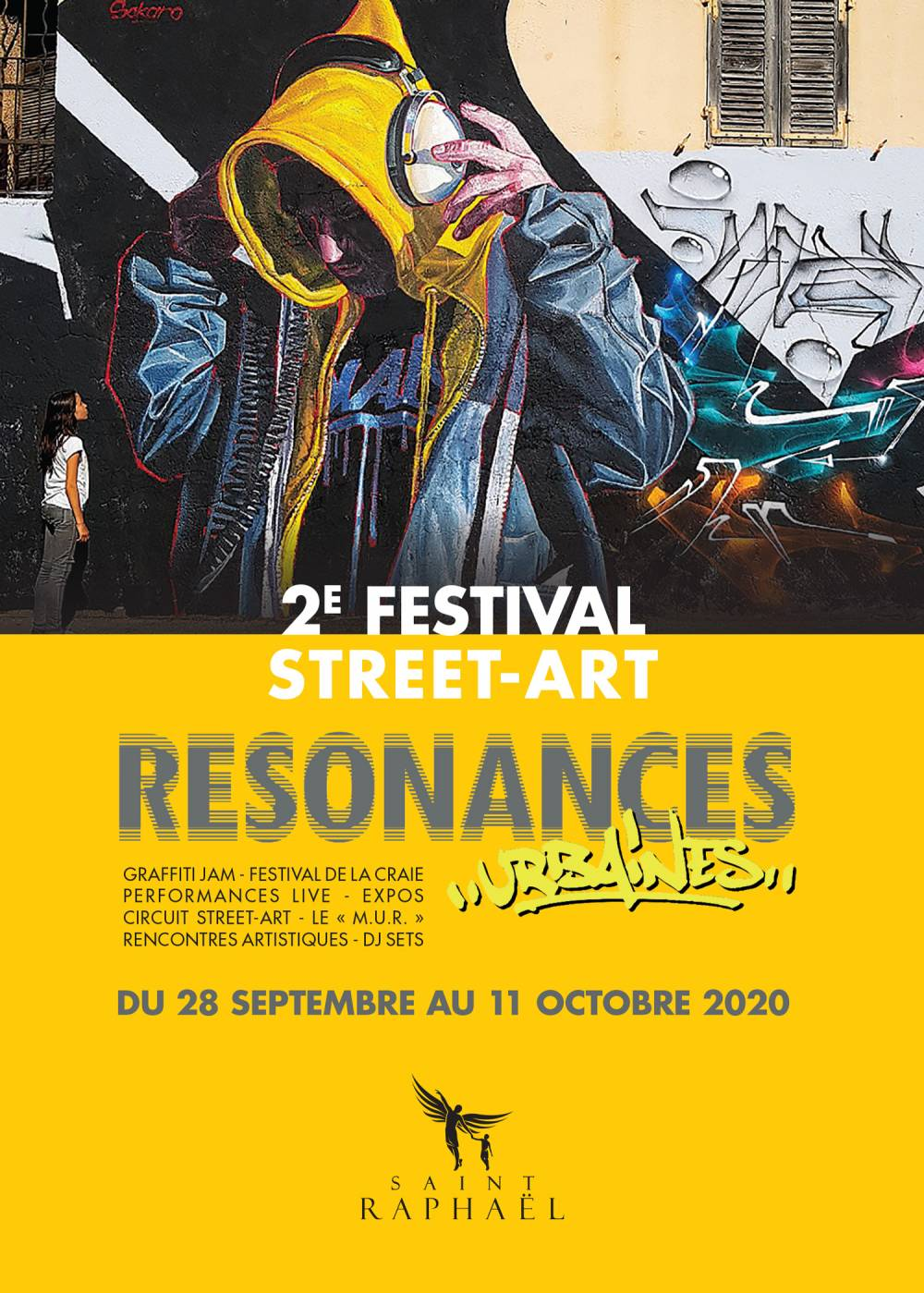 Deuz Du 28 SEPTEMBRE au 11 OCTOBRE 2020 // RÉSONANCES URBAINES // SAINT-RAPHAÊL
